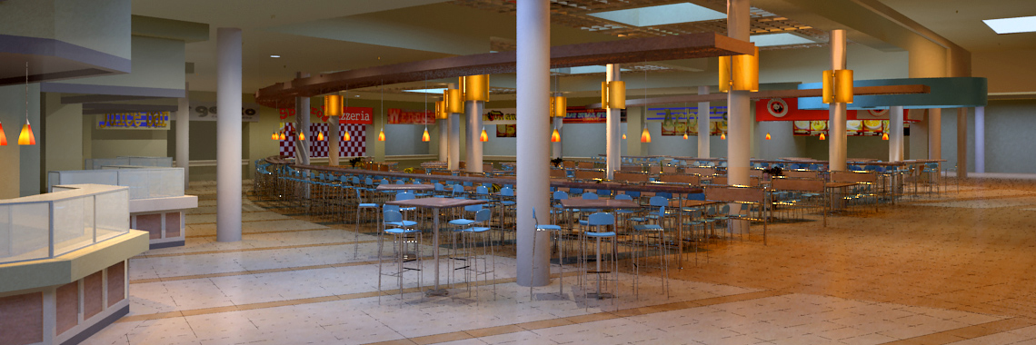 Valley River Center Food Court