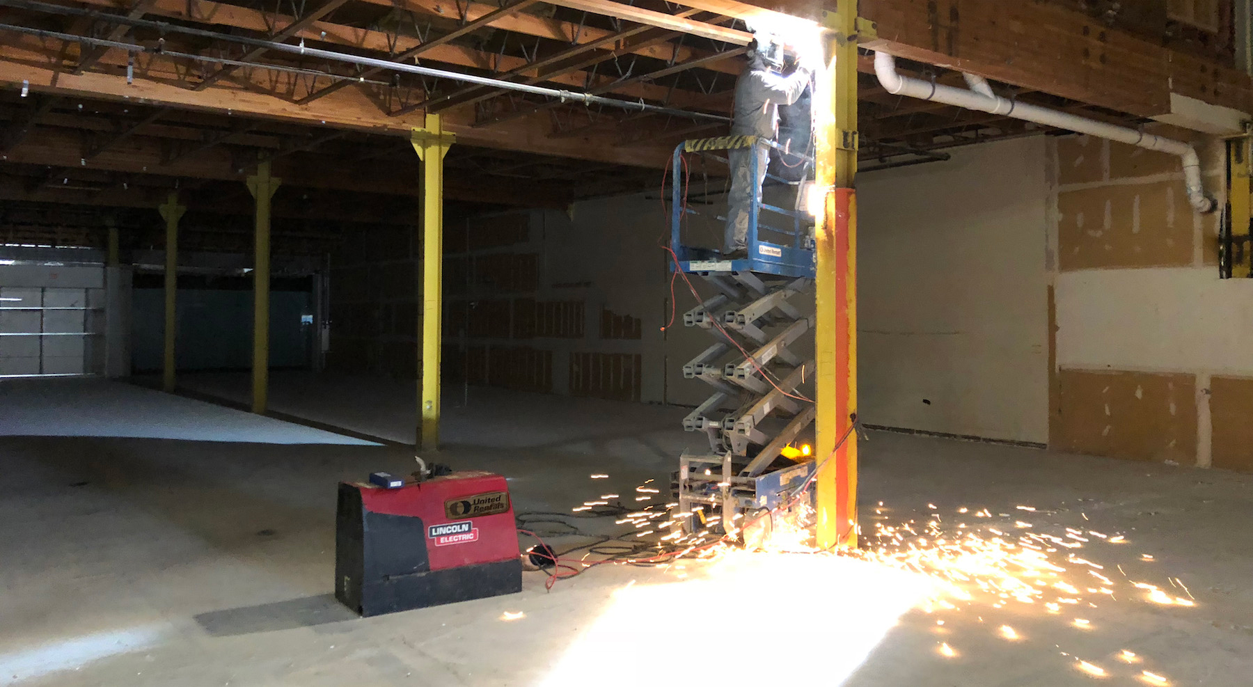 Welding - Commercial Structural Columns Beams