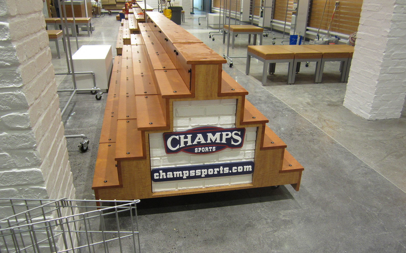Champs Sports Remodel Eugene Oregon